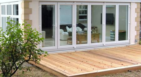 We can manufacture Bi-Folding Doors up to 6.3 metres in length. Ideal if you wish to really open a room up and create space like never before. & Bi-Folding Doors in Boston Lincolnshire